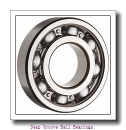 2 mm x 6 mm x 2,3 mm  ISO FL619/2 deep groove ball bearings