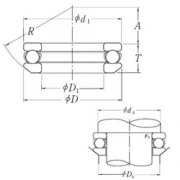 NSK 53272X thrust ball bearings