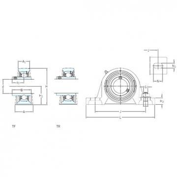 SKF SY 1.1/2 FM bearing units
