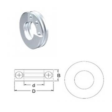 ZEN S51112 thrust ball bearings