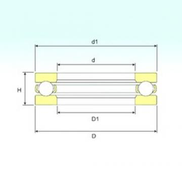 ISB 511/600 M thrust ball bearings