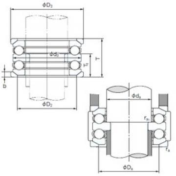 NACHI 54217U thrust ball bearings