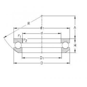 NKE 53212 thrust ball bearings