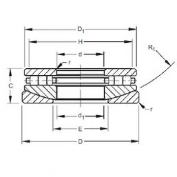 Timken 20TPS104 thrust roller bearings