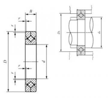 700 mm x 815 mm x 45 mm  IKO CRBC 30035 thrust roller bearings