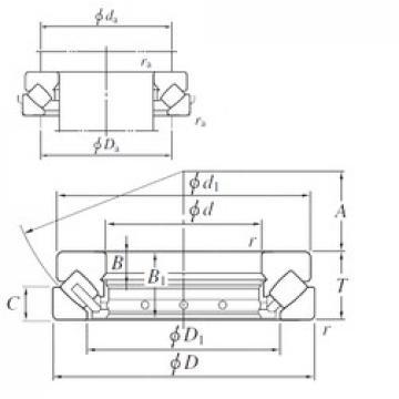 150 mm x 300 mm x 32 mm  KOYO 29430R thrust roller bearings