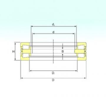 270 mm x 450 mm x 45 mm  ISB 351164 C thrust roller bearings