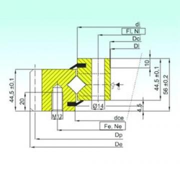 ISB ER1.14.0744.200-1STPN thrust roller bearings