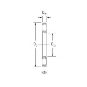 KOYO NTH-4876 thrust roller bearings