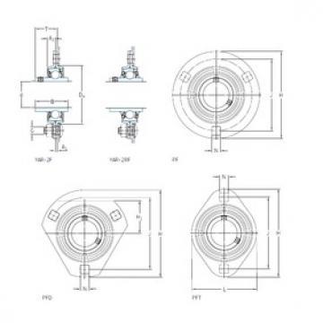 SKF PFT 3/4 TR bearing units