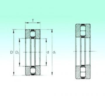 80 mm x 140 mm x 12,5 mm  NBS 89316TN thrust roller bearings