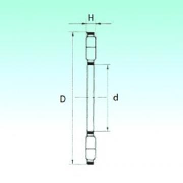 NBS K89311TN thrust roller bearings