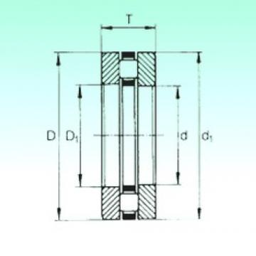 55 mm x 78 mm x 5 mm  NBS 81111TN thrust roller bearings