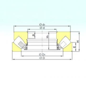 560 mm x 980 mm x 99 mm  ISB 294/560 M thrust roller bearings