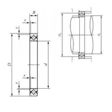 180 mm x 206 mm x 13 mm  IKO CRBS 18013 thrust roller bearings