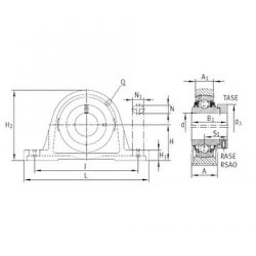 INA TASE35-N bearing units