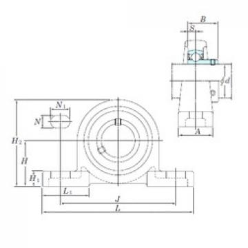 KOYO BLP202-10 bearing units