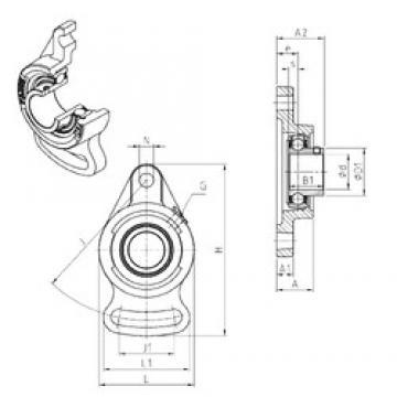 SNR USFA210 bearing units
