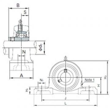 NACHI UCP317 bearing units