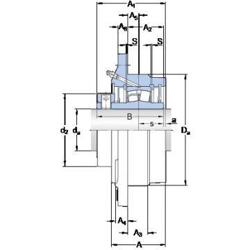SKF FYRP 2 bearing units