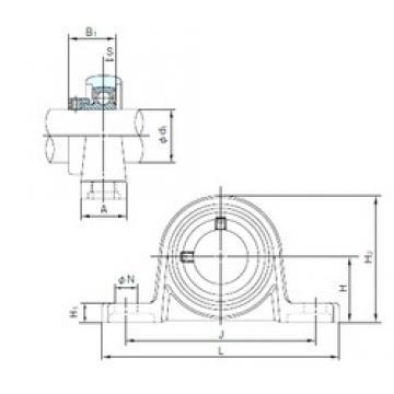 NACHI MUP006 bearing units