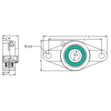 AST UCFL 202G5PL bearing units