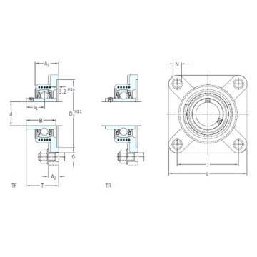 SKF FYK 20 TF bearing units