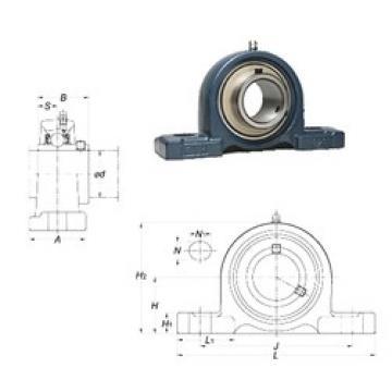 FYH UCPX20-64 bearing units