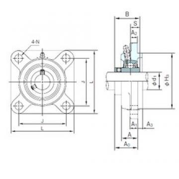 NACHI UCFS316 bearing units