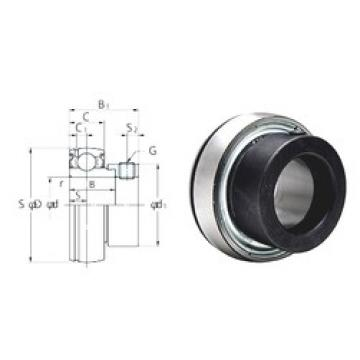 31,75 mm x 72 mm x 25,4 mm  KOYO SA207-22F deep groove ball bearings