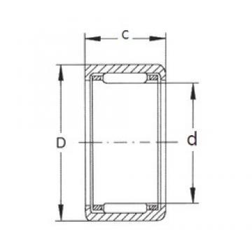 FBJ HK2526 needle roller bearings
