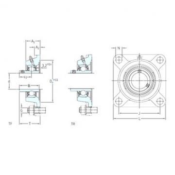SKF FYJ 25 TF bearing units