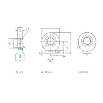 SKF SC35ES plain bearings