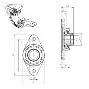 SNR ESFL209 bearing units