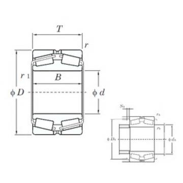 240 mm x 400 mm x 128 mm  KOYO 45348 tapered roller bearings