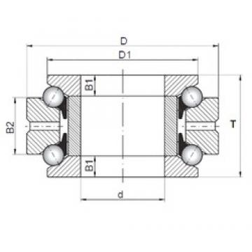 ISO 234412 thrust ball bearings
