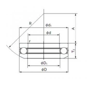 NACHI 53218 thrust ball bearings