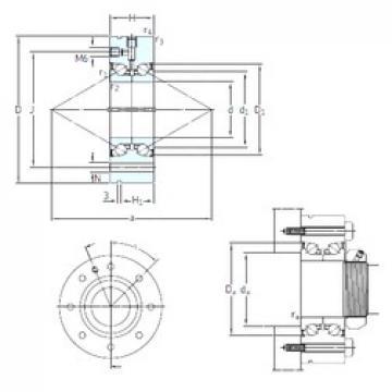 SNFA BEAM 50/115/Z 7P60 thrust ball bearings