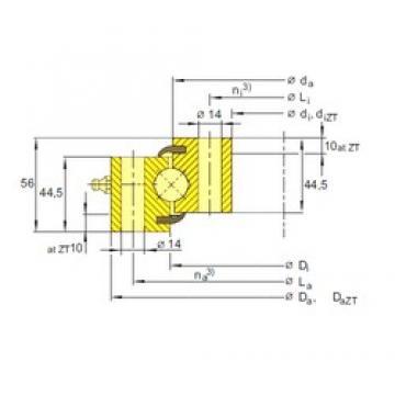SIGMA ESU 20 0544 thrust ball bearings