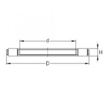NKE K 81232-MB thrust roller bearings