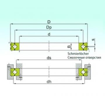 140 mm x 175 mm x 18 mm  ISB SX 011828 thrust roller bearings