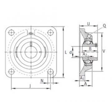 INA RCJY15 bearing units