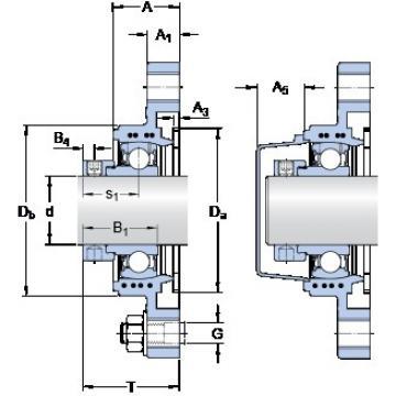 SKF FYTBK 30 FE bearing units
