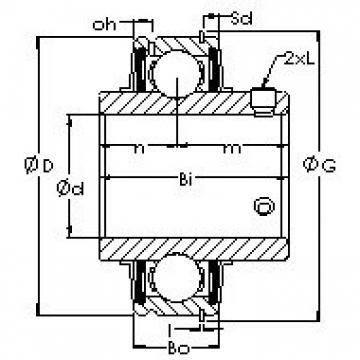 AST ER212 bearing units
