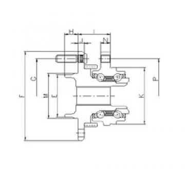 ILJIN IJ133026 angular contact ball bearings