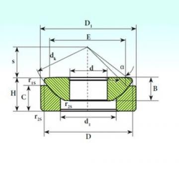 10 mm x 27,5 mm x 7,5 mm  ISB GX 10 CP plain bearings