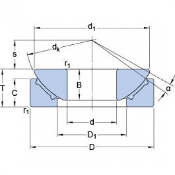 45 mm x 120 mm x 31 mm  SKF GX 45 F plain bearings