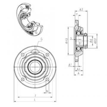 SNR ESFEE212 bearing units