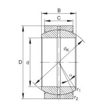 INA GE35-DO plain bearings