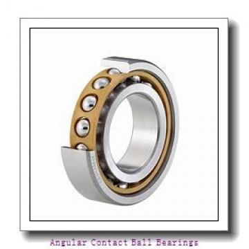 40 mm x 90 mm x 23,1 mm  FAG SA1021 angular contact ball bearings